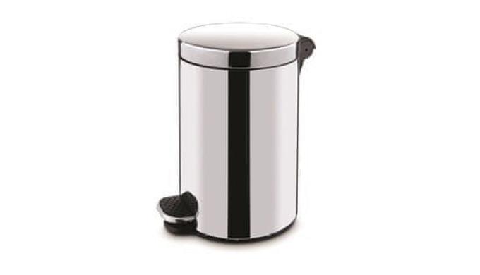 Coșde gunoi cu pedala Freedom Alda. Se utilizează în сase particulare,la întreprinderi, în hoteluri, restaurante etc.
