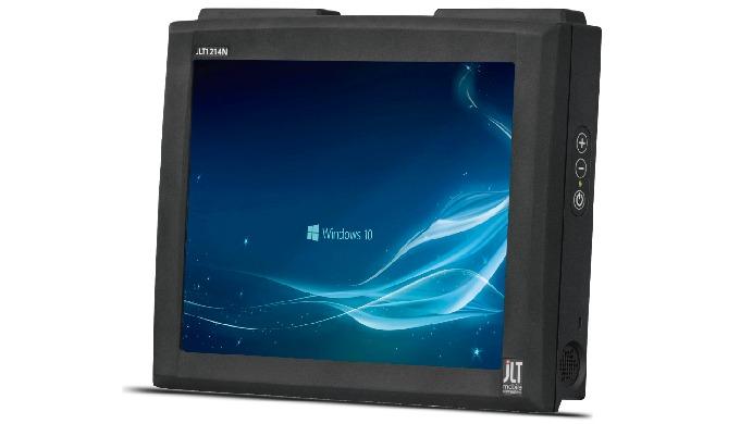 El PC para vehículo de JLT Mobile consta de varios terminales robutos y potentes. Son removibles para colocar y extraer