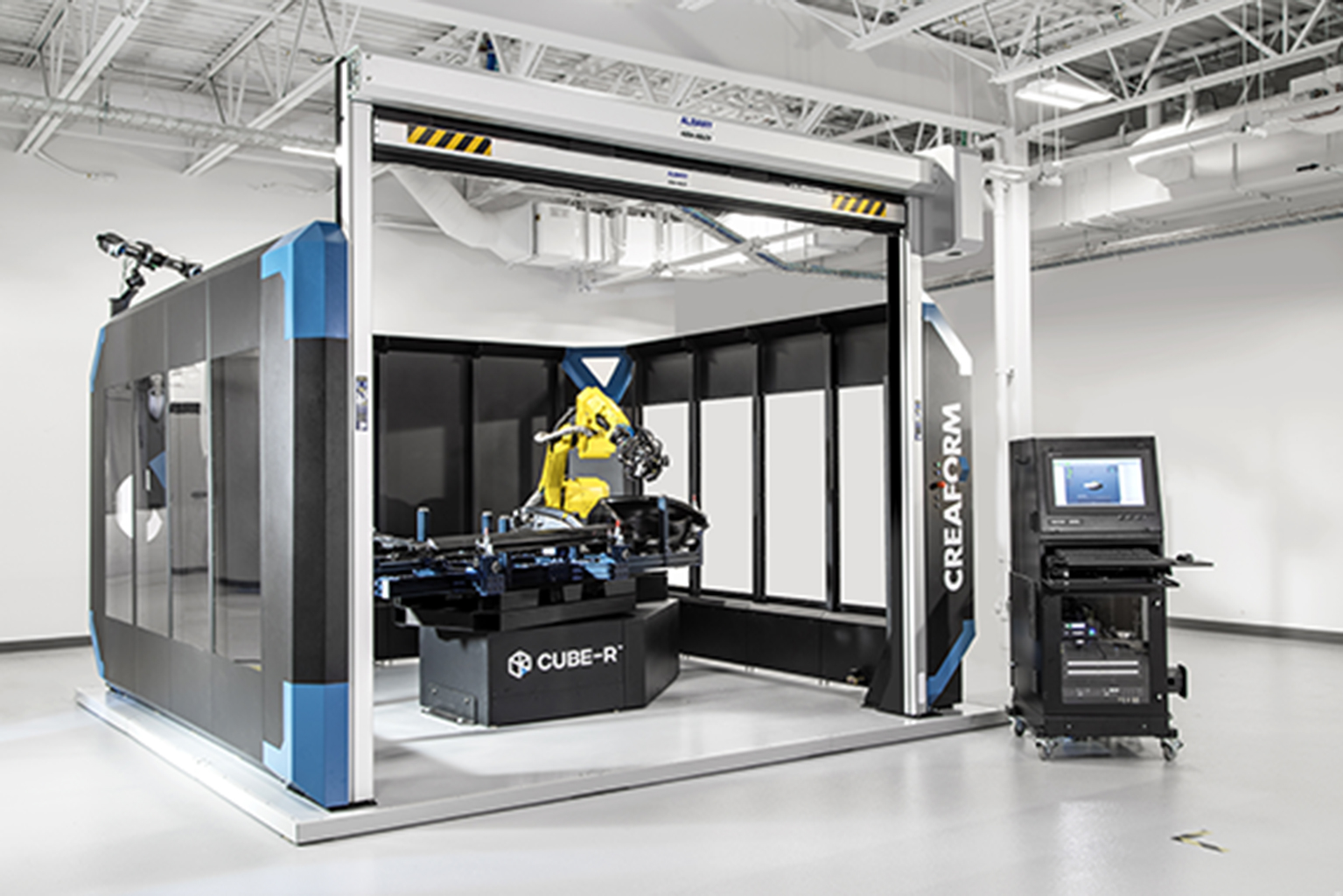 Creaform launches Cube-R, a complete turnkey automated dimensional inspection solution
