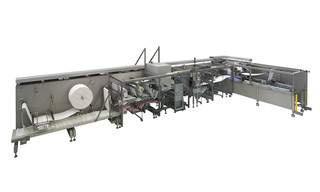 Automatisierung der Herstellung und Verpackung von Wundauflagen. Mit Ihren Anforderungen setzen wir uns gerne auseinande