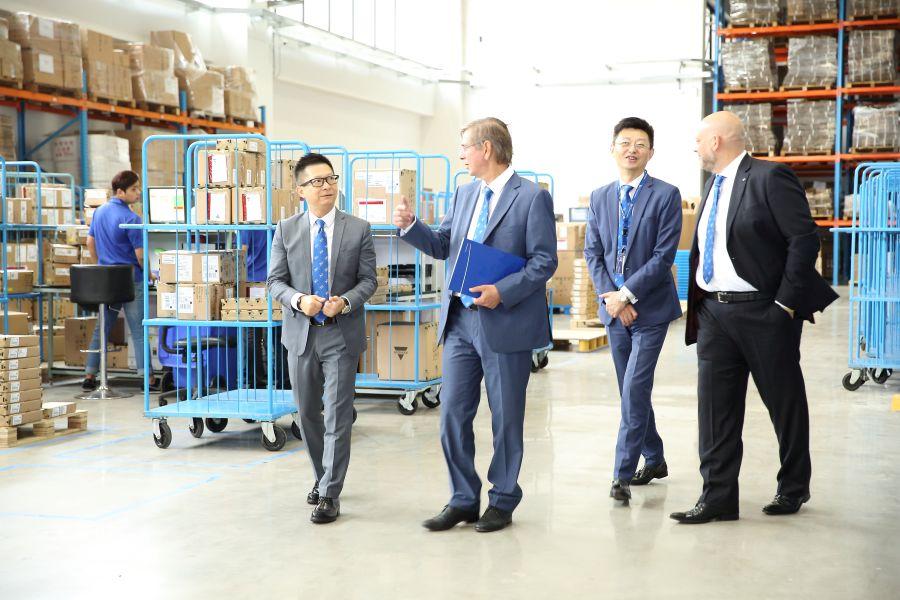 cargo-partner otevírá v Šanghaji celní sklad s plochou 3.700 m2