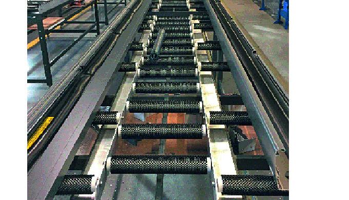 Prozessoptimierung durch Mink Transport-Bürstenrollen