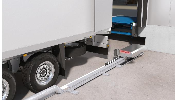 Ausgesprochen anziehend – die neue automatische LKW-Wegfahrsperre von ASSA ABLOY Entrance Systems