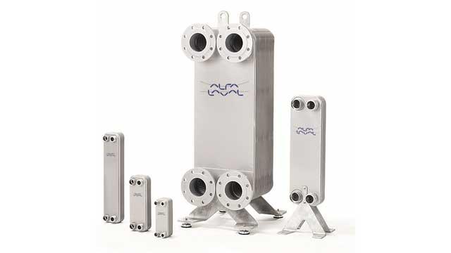 Échangeurs thermiques à plaques brasées / à plaques et joints / à plaques fusionnées Les échangeurs thermiques à plaque