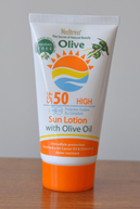 Sun Lotions with Olive Oil SPF 50 , After Sun Creams  and Lotions , Sunblock Creams and Lotions , Sun Cream with Olive Oil SPF 50 , Natural , Lotion , Cream , Cosmetics
