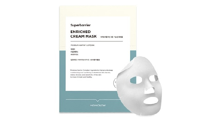 Skin barrier reinforcement mask pack for xeroderma, drydermatitis Intensive moisturizing with 'Moisture Barrier Complex