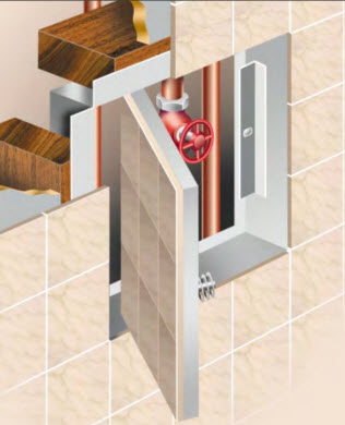 PANELCRAFT ACCESS PANELS have developed the TILEPAN RANGE to provide an effective solution to gain access to building en