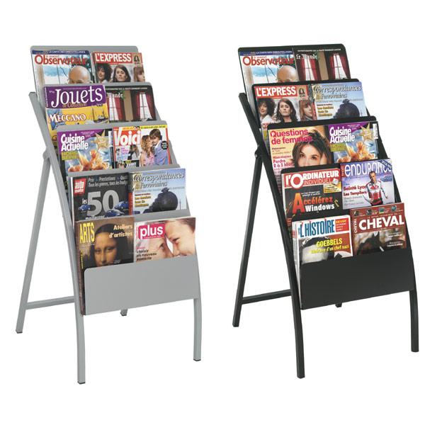 Très pratique, grande capacité, pour tous formats de brochures, dépliants, il trouve sa place partout ! Pour aménager vo