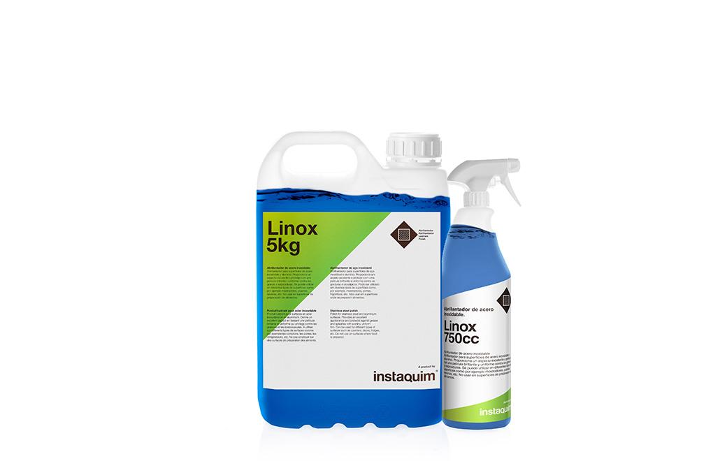 Linox, abrillantador de acero inoxidable.