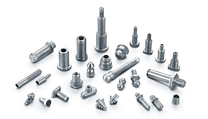 HEICO-FORM Produktübersicht Kaltfließpressteile In unserer Produktion verarbeiten wir Draht (Stahl, Edelstahl, NE-Metall
