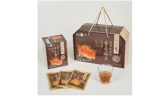 Hasimjung Sungjaemo Brown Rice Cordyceps Militaris Extract is a reliable healthy drink rich in cordycepin component. Thi
