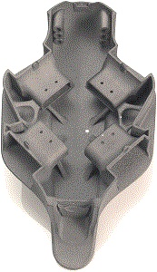 IMPRESION EN 3D MULTIJET FUSION Piezas funcionales en poliamidas PA12 Pieza para dron.