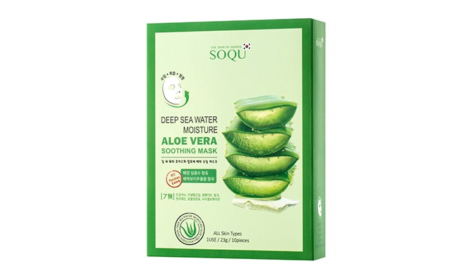 1. It contains 97 % of the Aloe Vera Extract from Jeju Island, calming the damaged skin and rapidly adding moisture. 2.