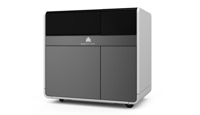 La machine ProJet®MJP 2500 est la dernière de la gamme d'imprimantes 3D d'impression MultiJet (MJP) de 3D Systems, conç