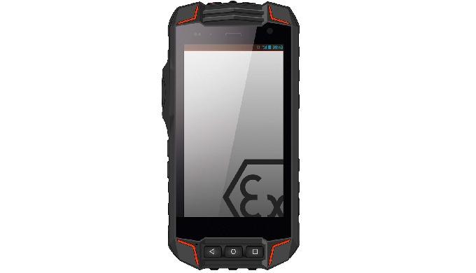 Un smartphone ATEX zona 1/21 brinda la comunicación más avanzada con la posibilidad de incorporar el software corporativ