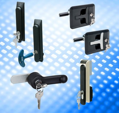 IP65 latches for specialist cabinet locking systems