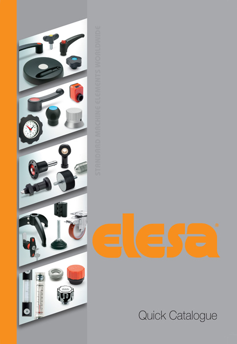 New Quick Catalogue from Elesa speeds product reference for standard machine elements