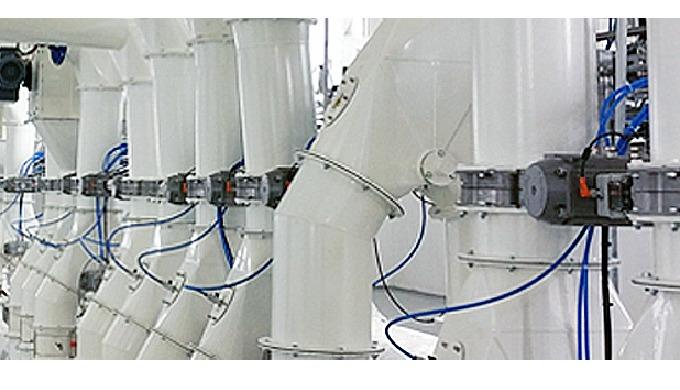 WAMGROUP ofrece una amplia gama de válvulas de interceptación de flujo para polvos y gránulos, incluidas válvulas de mar