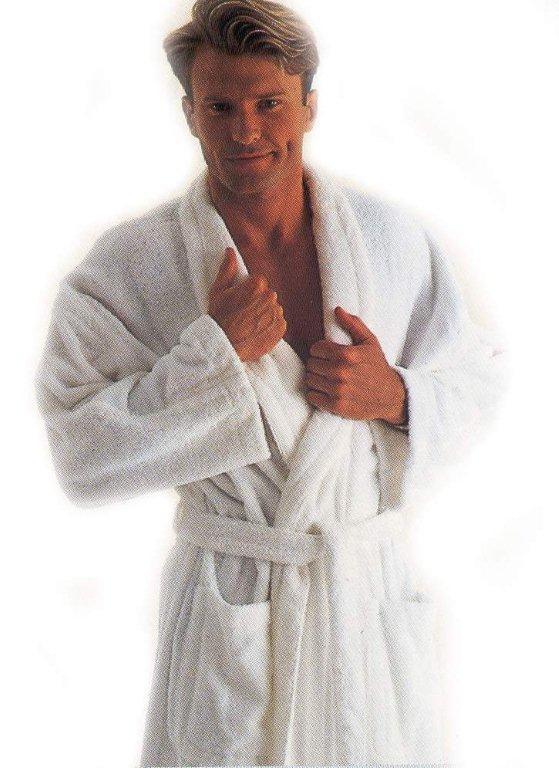 men bathrobe