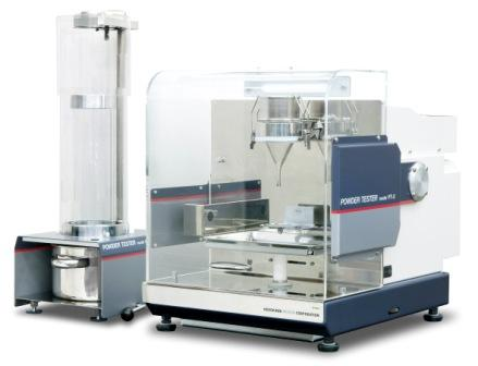 Complete powder characterisation in one instrument. The latest version of the industry standard laboratory unit used to