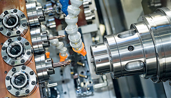Initial processing On our powerful, mechanically operated multi-spindle machines from Schütte and Tornos, we manufacture