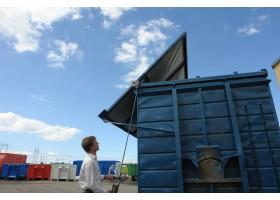 Ett nyttrevolutionerande system för öppning av tak och väggar på lastväxlarflak liksom på små som stora byggnationer. C