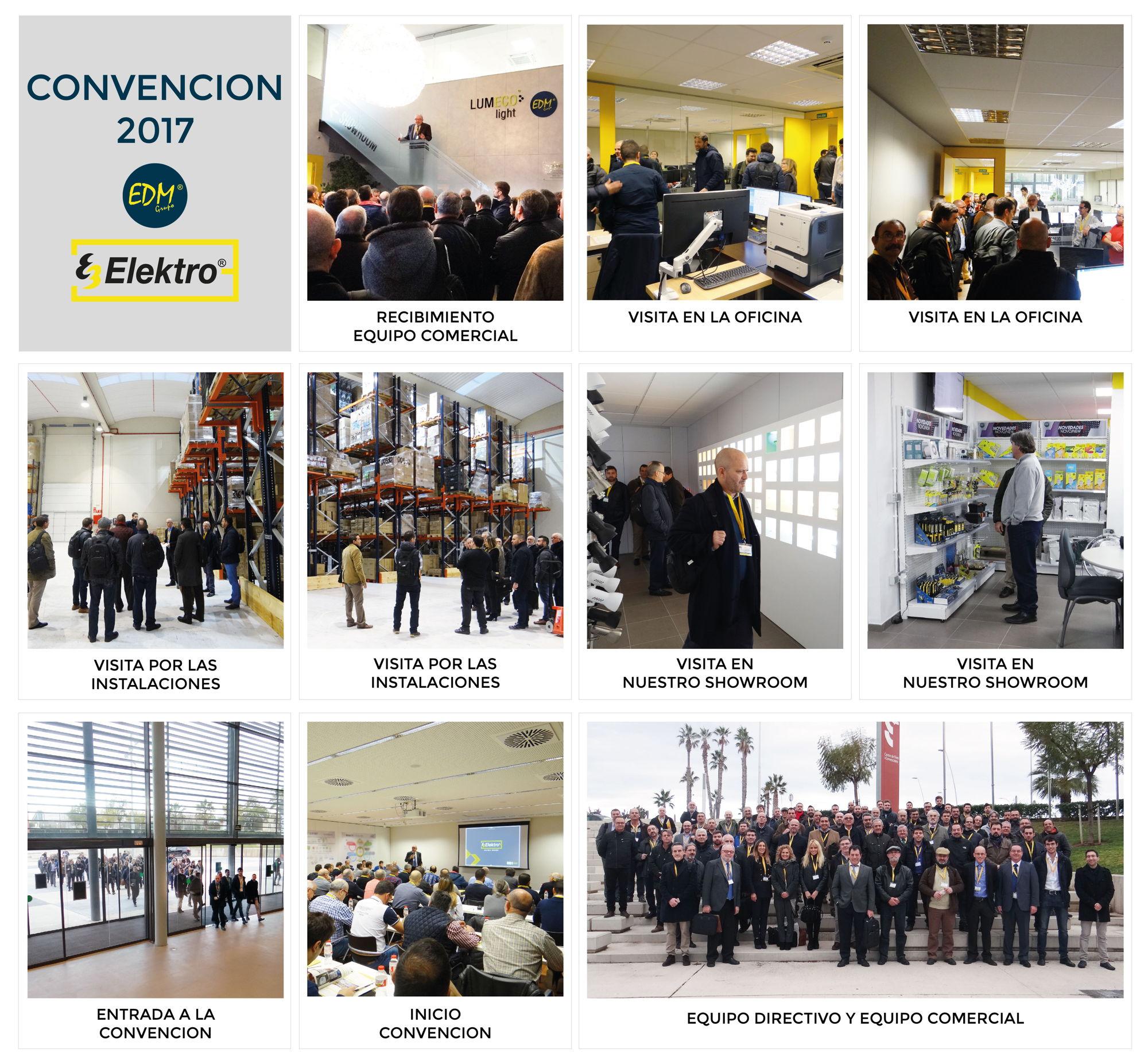 Convención Elektro3 - Grupo EDM 2017
