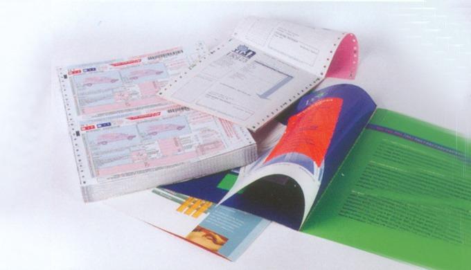 Les encres de la série Excure 40000 sont spécialement formulées pour l'impression en continu ou machines offset rapides.