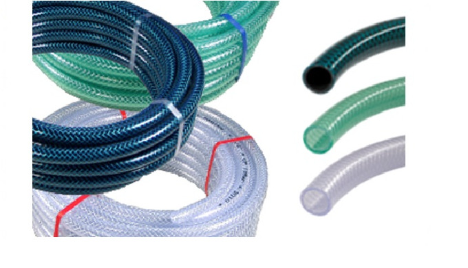 includes PVC water hoses