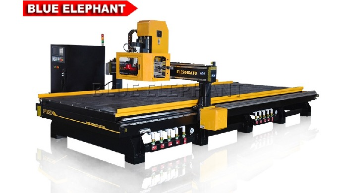 Features: 1. Like 2040 Carousel ATC CNC Router Machine, this type of  machine was designed with carousel tool changer. 2