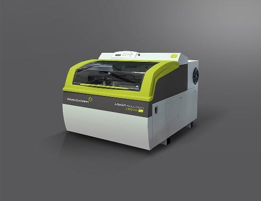 La LS900XP es la máquina láser para grabar y recortar por CO2 más rápida del mercado, con una estructura extremadamente