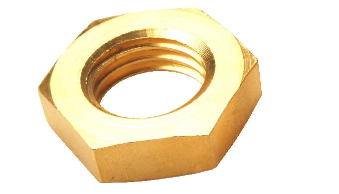 Brass Jam Nuts DIN 936
