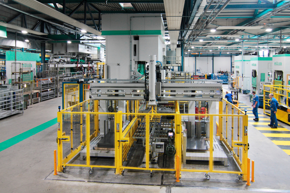 Witte van Moort first in Europe to install new automation from AP&T