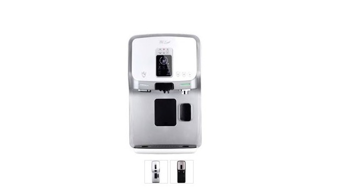 ALL-IN-ONE CAFÉ WORLD FIRST WATER PURIFIER WITH COFFEE&ICE MAKER THE NATURAL TASTE AND AROMA OF COFFEE CAPSULE FROM ITAL