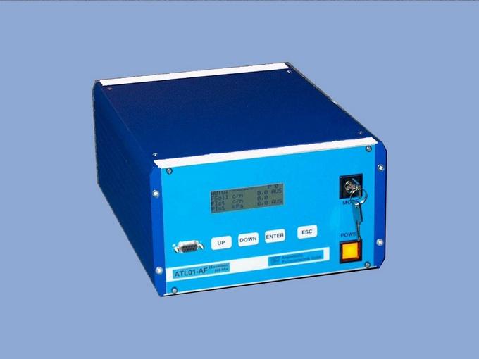 Das Automatische Testleck ATL01 dient dazu, eine komplette Dichtheits-/Durchfluss-Prüfeinrichtung im automatischen oder