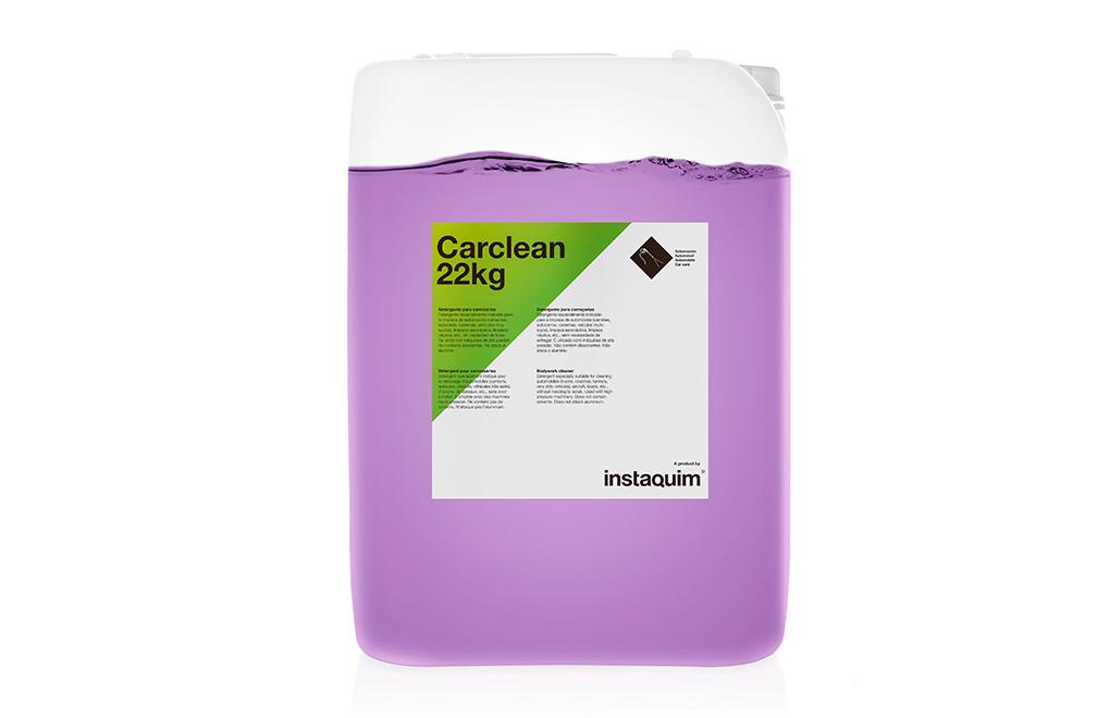 Carclean, detergente para carrocerías.