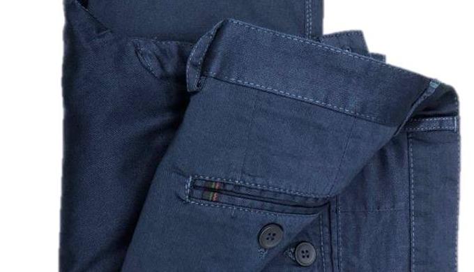 Pantalon en coton/lycra pour hommes (slim fit ou loose fit)
