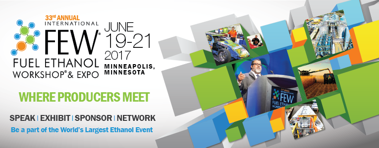 Sunson attend International Fuel Ethanol Workshop & Expo 2017(FEW2017)