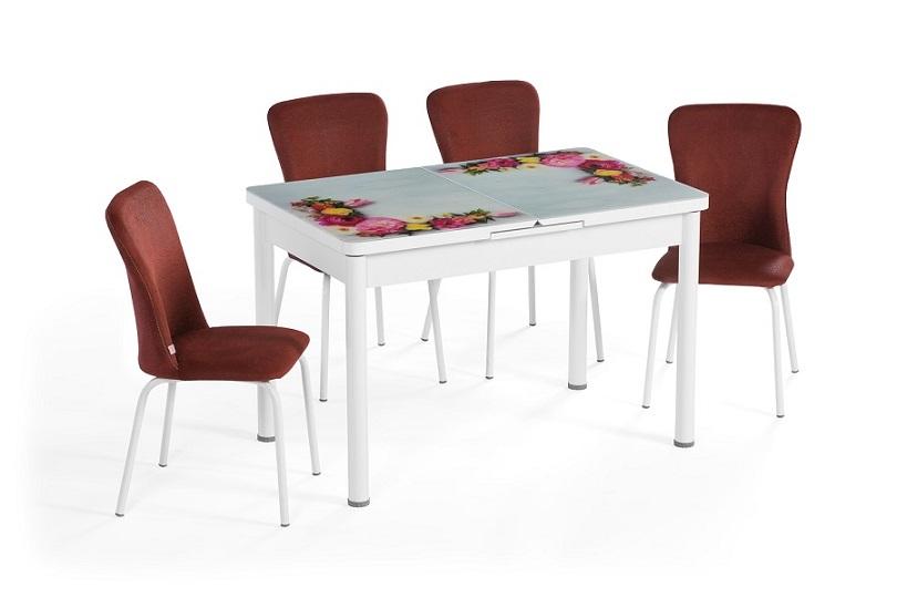 EN 945 Glazed Bouquet Dining Set