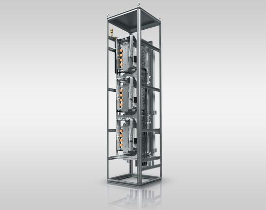SKiiPRACK® IGBT Inverter Leistungsdichte 10,4 kVA/l