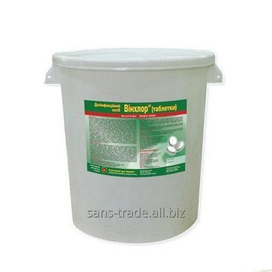 Средство для дезинфекции резиновых ковриков Winchlore (таблетки)