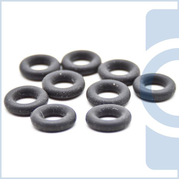 O-Ringe, die auch Nullringe oder Rundringe genannt werden, sind in verschiedenen Werkstoffen im Handel: diese sind z. B.