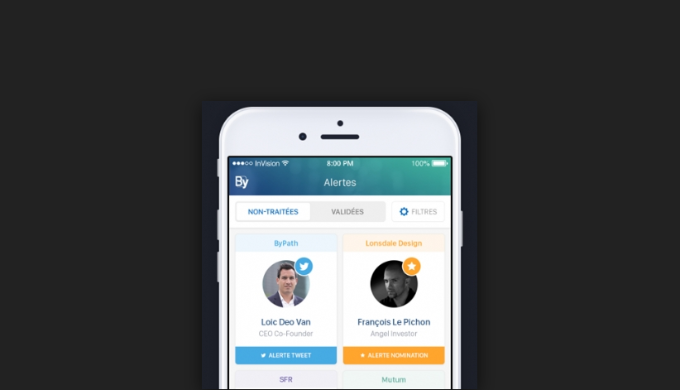 ByPath lance son Application Mobile