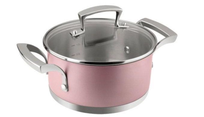 stainless steel cookware pot JLKP-4
