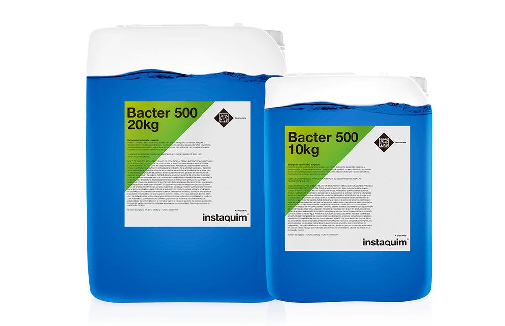 Bacter 500, detergente bactericida y fungicida.