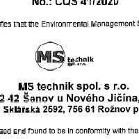 ČSN EN ISO 14001: 2016