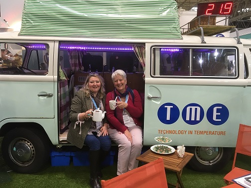 TME Campervan at Commercial Kitchen 2018 - NEW Thermometers & Special Offers