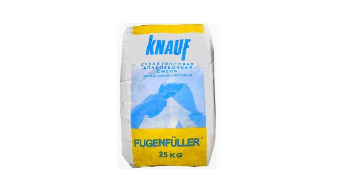 KNAUF Fugenfuller, chit pentru rosturi. Euroclasa A1, mortar uscat uşor pe bază de ipsos aditivat special&#x3b; pe bază de ß