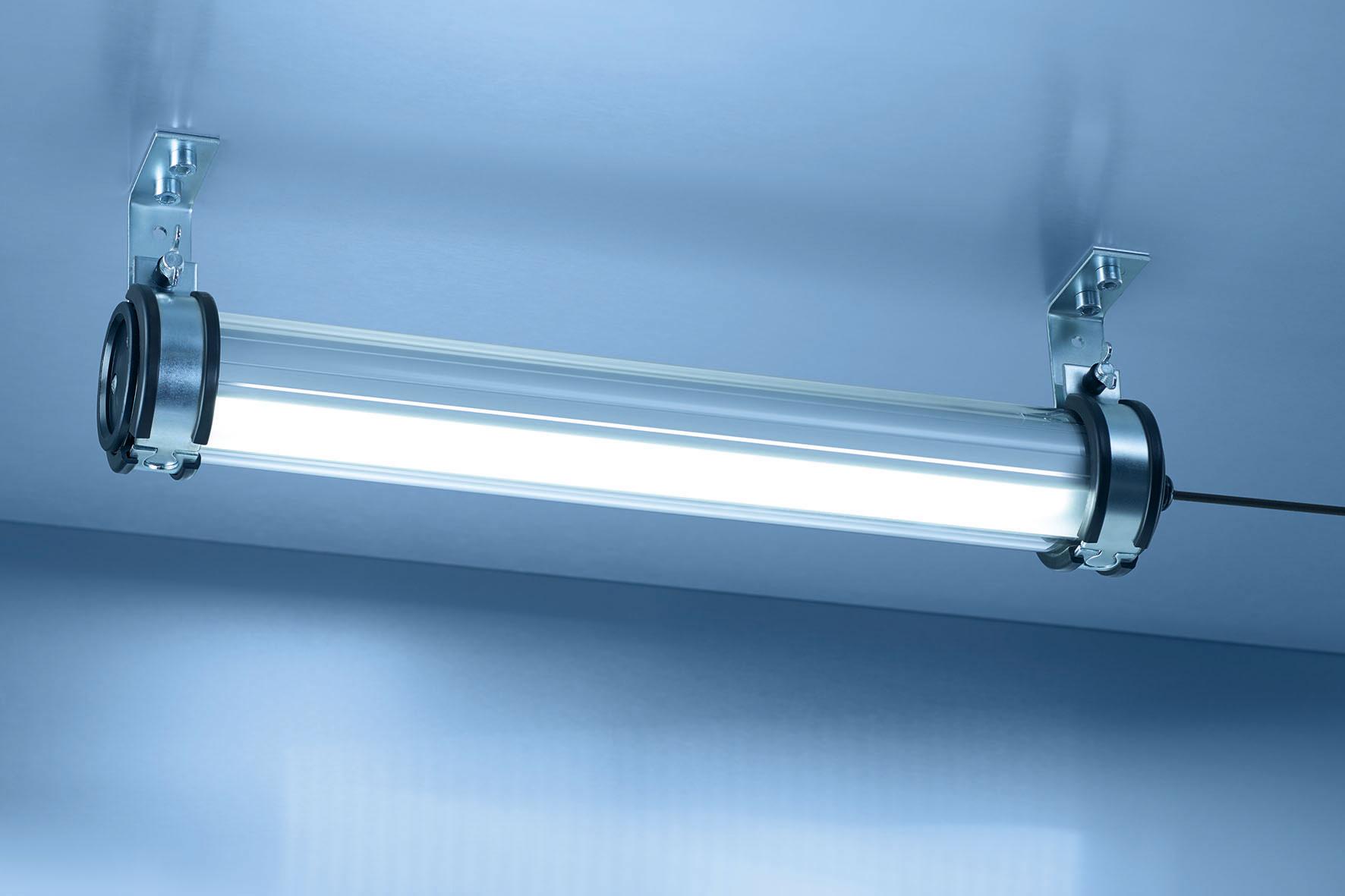 Neue LED-Rohrleuchten von Waldmann