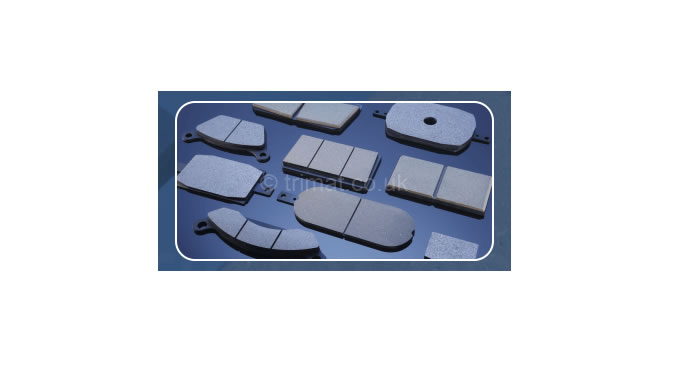 Trimat specialise in the manufacture of industrial and off highway brake pads. Available in organic, semi metallic and s